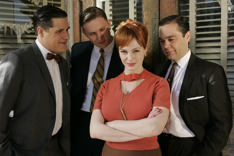 Mad Men - Christina Hendricks als Joan Harris © Amazon Prime