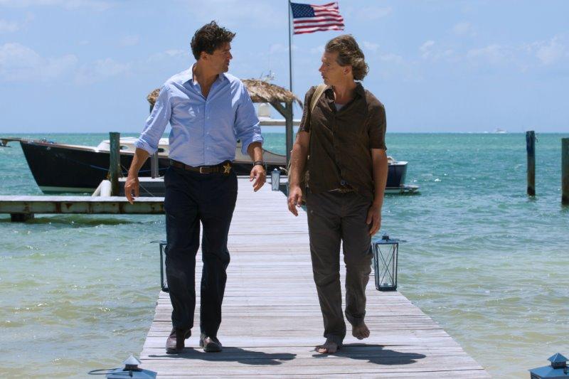 """Kyle Chandler (John Rayburn) und Ben Mendelsohn (Danny Rayburn) in der Netflix Original Serie """" Bloodline """".  Photo Credit: Saeed Adyani  © 2014 Netflix, Inc. All Rights Reserved."""