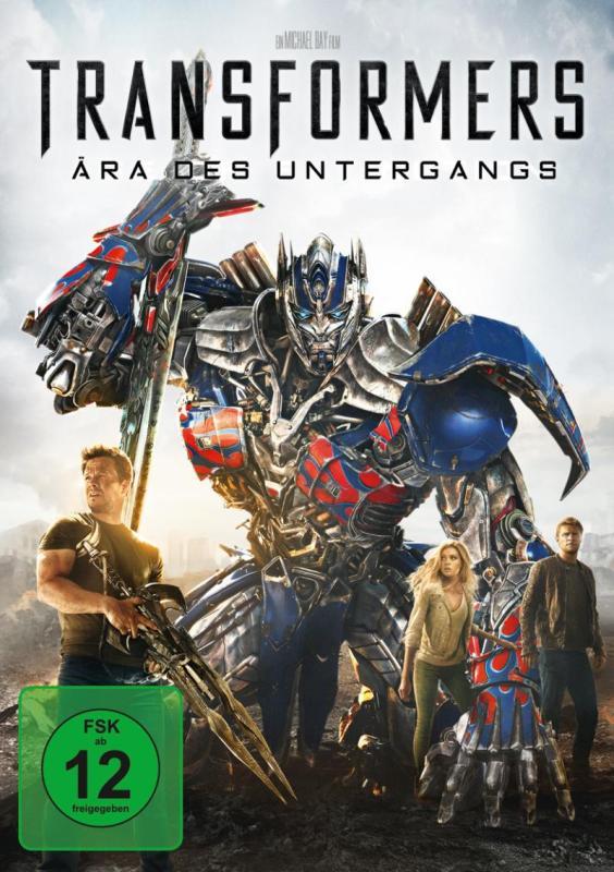 Transformers: Ära des Untergangs jetzt online bei Maxdome und Amazon