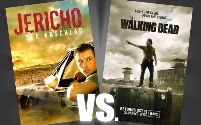 "Apo­ka­lyp­se in Serie - ""Jericho"" vs. ""The Walking Dead"""