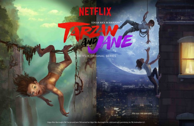 Edgar Rice Burroughs™ Tarzan and Jane™ - © Netflix