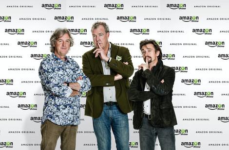 Das Kult-Trio kehrt zurück: Jeremy Clarkson, Richard Hammond und James May werden in einer neuen Autoshow bei Amazon Prime zu sehen sein.