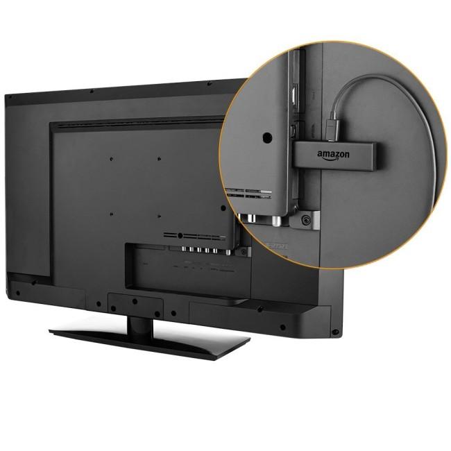 Fire TV Stick am HDMI Eingang des Fernsehers