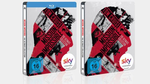 "Exklusiv für Sky Kunden: ""Mission: Impossible – The Ultimate Collection"" als exklusives Steelbook"