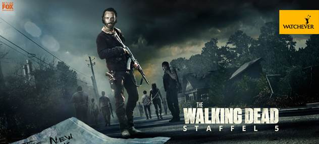 """The Walking Dead"" Staffel 5 ab 01.01.2016 auf Watchever"