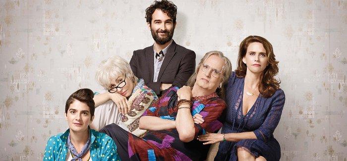 Eine außergewöhnliche Familie: Ali, Shelly, Jeff, Maura und Sarah Pfefferman (v.l.).  © Amazon