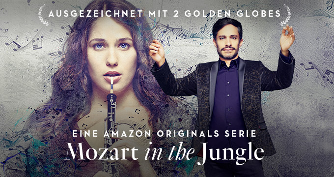 Amazon bestellt dritte Staffel der Golden-Globe-Gewinnerserie Mozart in the Jungle