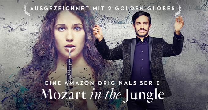 Amazon bestellt dritte Staffel der Golden-Globe-Gewinnerserie Mozart in the Jungle