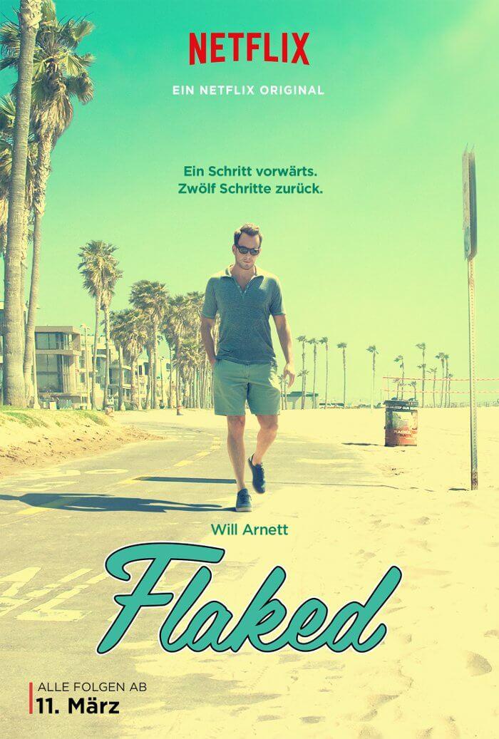 FLAKED - Netflix Original Dramedy von und mit Will Arnett ab dem 11. März exklusiv auf Netflix