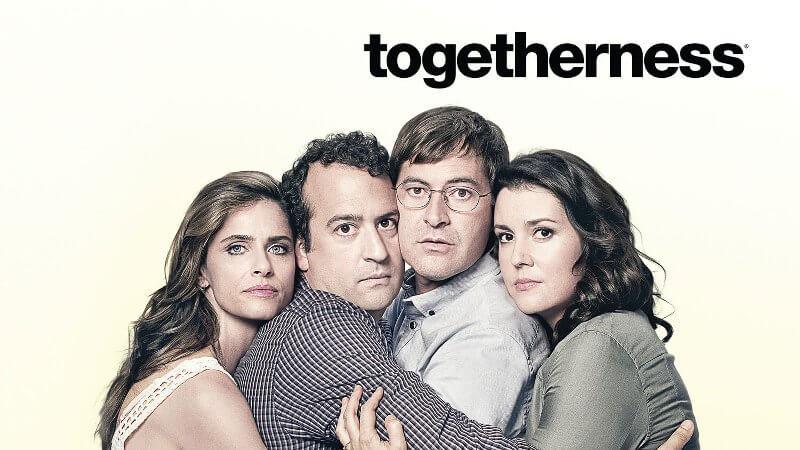 """Zwei Frauen, zwei Männer und die Tücken der Liebe - die """"Togetherness"""" geht weiter © Sky"""