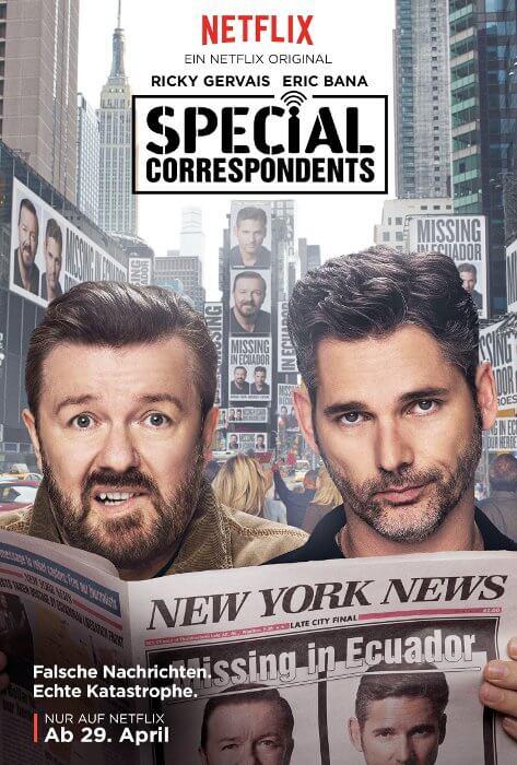 SPECIAL CORRESPONDENTS - ab 29. April auf Netflix © Netflix