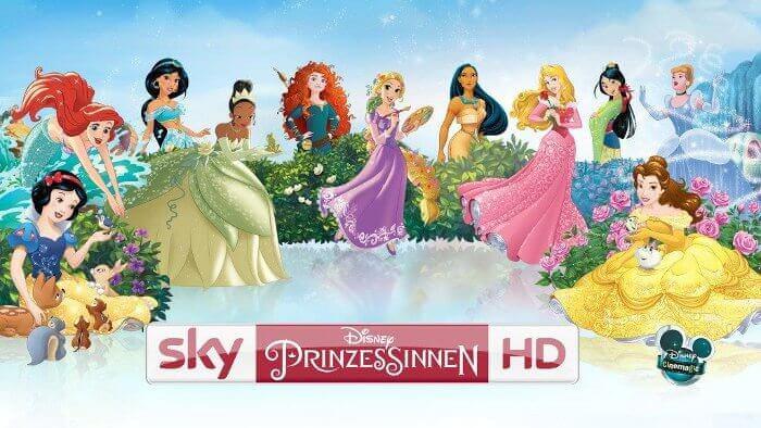 """""""Sky Disney Prinzessinnen HD"""": Osterferien mit allen Disney Prinzessinnen © Sky"""