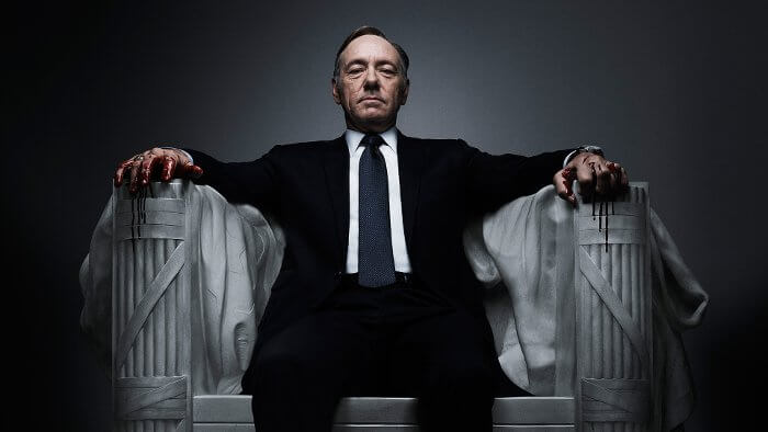 Die brandneue vierte Staffel des Politthrillers House of Cards ab 5. März bei Amazon Video
