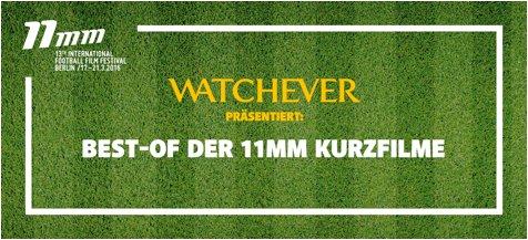 Neuer Fußballfilm-Kanal bei Watchever © Grafik Watchever