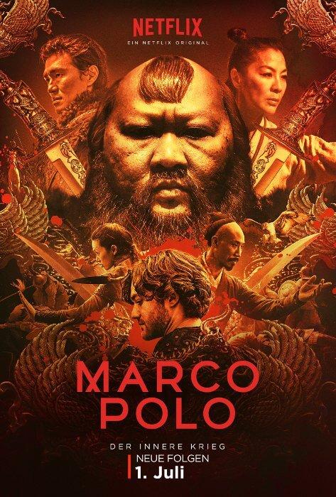 MARCO POLO - die zweite Staffel ab dem 1. Juli © Netflix