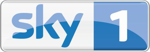 Logo Sky 1 On White