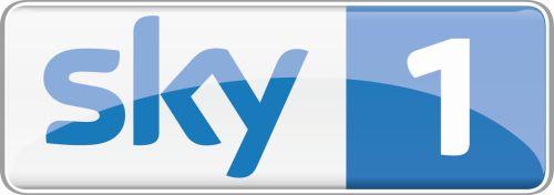 Logo Sky 1 On White