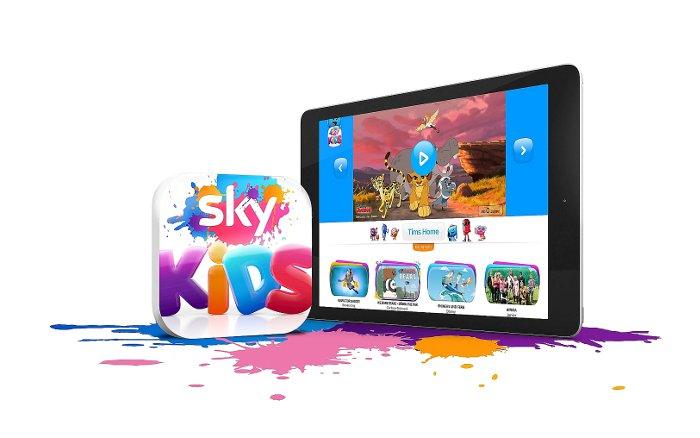 Die neue Sky Kids App | Grafik © Sky