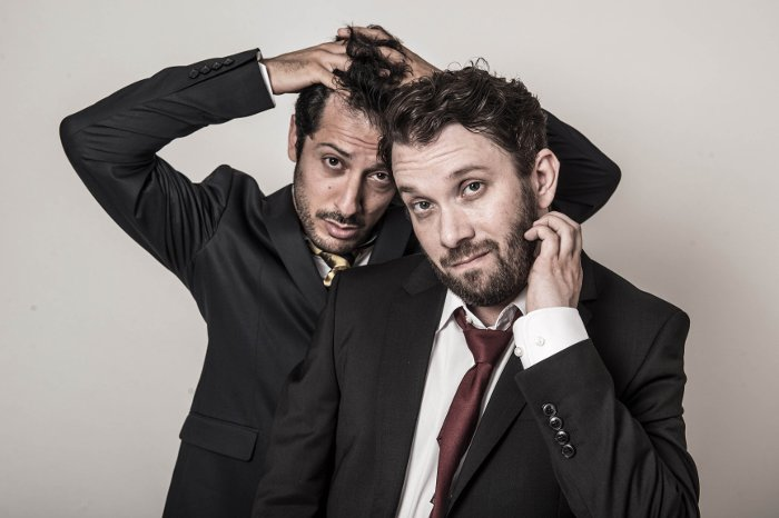 Jerks (AT) Fahri Yardim (links) und Christian Ulmen (rechts) © maxdome