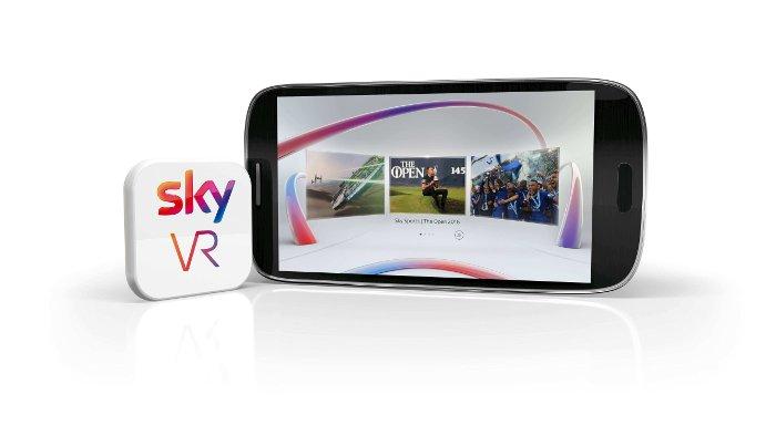 Sky startet VR-App für ein einzigartiges Virtual-Reality-Erlebnis © Sky