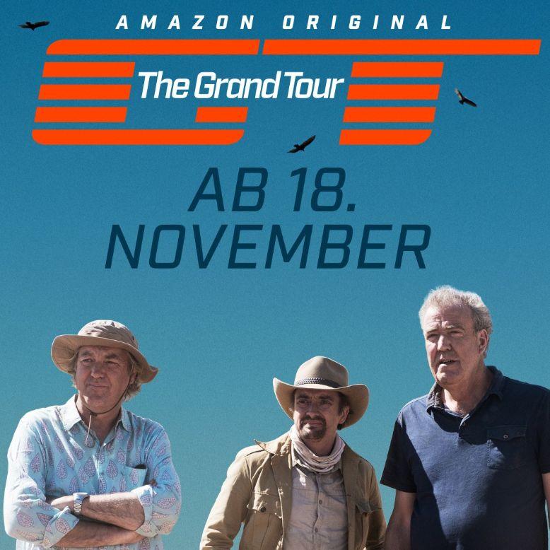 """""""The Grand Tour"""" - ab 18.11. jeden Freitag eine neue Folge"""