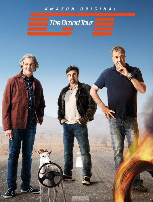 "Erfolgreicher Start der ""Grand Tour"" auf Amazon Prime Video © Amazon"