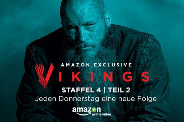 """""""Vikings"""" Staffel 4 Teil 2 ab heute bei Amazon"""